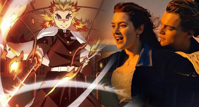 Kimetsu no Yaiba: Infinity Train supera a Titanic y se consagra como la segunda película más taquillera