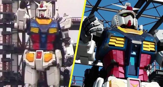 ¡El futuro es hoy! Japón termina de construir el Gundam gigante que se mueve solo (Video)