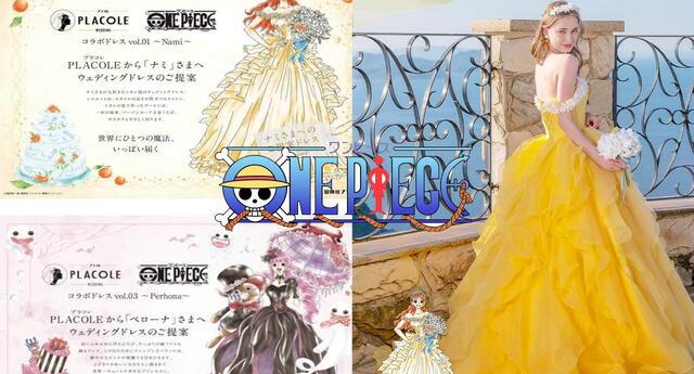 One Piece: Vestidos de boda para fans salen a la luz y vas a querer todos al estilo pirata