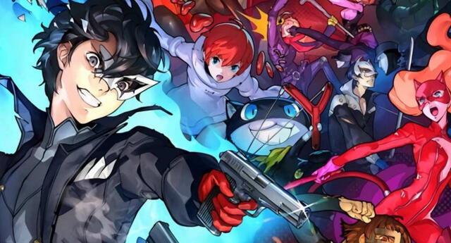 Persona 5 Strikers será el nombre con el que la secuela del exitoso JRPG de Atlus será lanzada fuera de Japón./Fuente: Atlus.