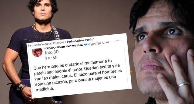 Pedro Suárez Vertiz es tendencia por ser criticado, tras comentario sobre intimidad y mujeres