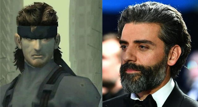 Oscar Isaac, actor de Poe Damon en la trilogía moderna de Star Wars, ha sido elegido para portar el traje especial de Solid Snake./Fuente: Composición.