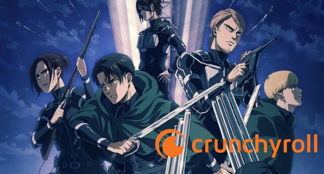 Crunchyroll ha comenzado a presentar problemas para el ingreso de usuarios debido a la alta demanda del primer episodio de Shingeki no Kyojin: Temporada Final./Fuente: MAPPA.
