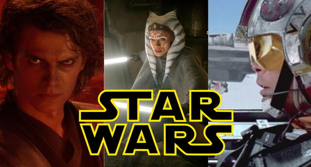 Disney ha sorprendido al mundo entero con todo el contenido de Star Wars que lanzará en los próximos años./Fuente: Disney.
