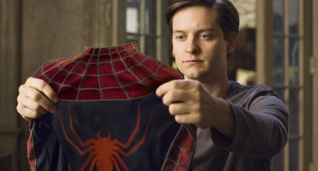 Tobey Maguire estaría solicitando una gran suma de dinero para volver a portar el característico traje de Spider-Man en la tercera cinta de la saga en el MCU./Fuente: Sony Pictures.