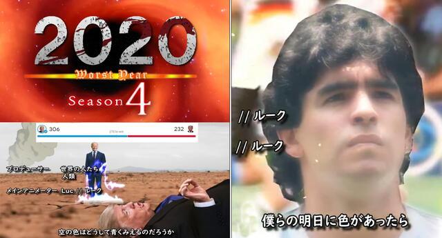 Opening anime fan-made destaca los eventos más impactantes del 2020.