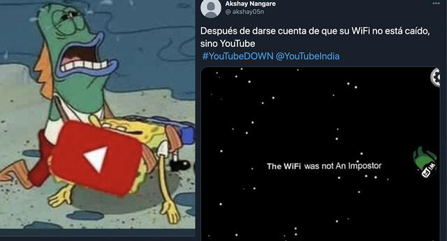 Estos son los mejores memes tras la caída de Google y YouTube a nivel mundial