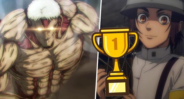 Shingeki no Kyojin Temporada Final es oficialmente el anime con mejor estreno en la historia