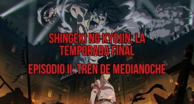 El episodio II de Shingeki no Kyojin ya fue liberado y aquí te compartimos un resumen de todo lo que ocurrió durante éste./Fuente: MAPPA.