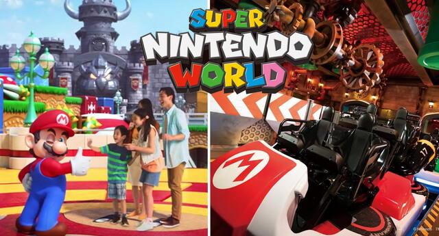 'Super Nintendo World', el parque temático de Mario Bros.
