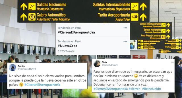 #CierrenElAeropuertoYa se vuelve tendencia en Twitter.