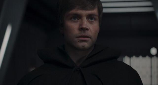 La aparición de Luke Skywalker en The Mandalorian no fue filtrado en Internet como suele suceder con anticipación en el cine y series./Fuente: Disney.