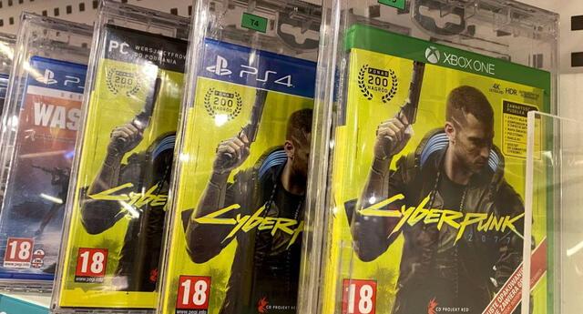 Cyberpunk 2077 ha logrado convertirse en un absoluto éxito de ventas pese a todos los problemas técnicos que posee./Fuente: Reuters.
