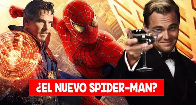 Leonardo DiCaprio sería una versión alternativa de Spider-Man.