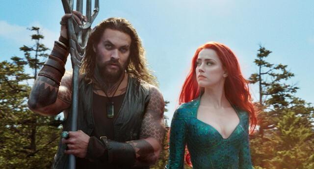 La intérprete de Mera vería reducida su participación en la secuela de Aquaman debido a la polémica que rodea a su batalla legal contra su exposo Johnny Depp./Fuente: Warner Bros.