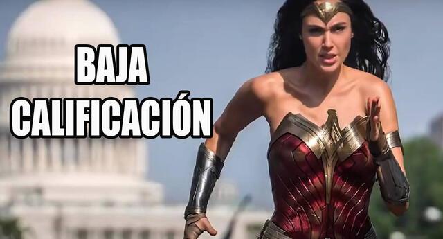 Wonder Woman 1984 recibe menos calificación que la primera película ¿decepcionante?