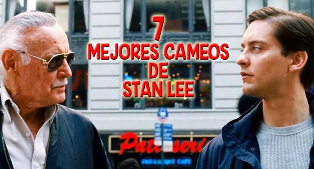 7 Cameos de Stan Lee en el cine.