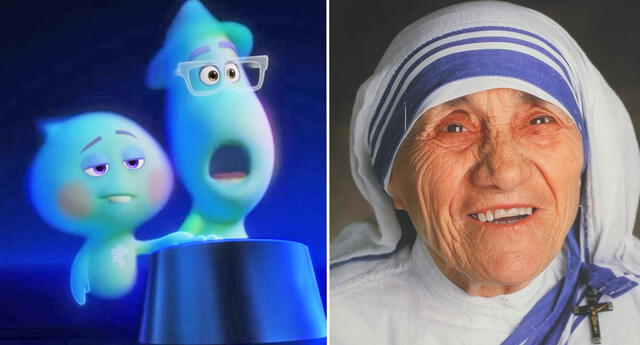Critican a 'Soul' de Pixar por la aparición de la Madre Teresa de Calcuta.