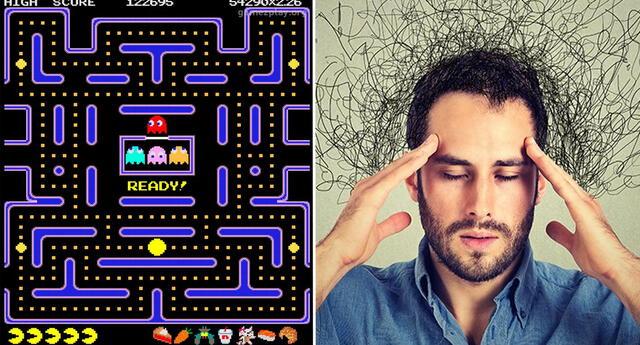Hipótesis asegura que Pac-Man estaría asocieado a las enfermedades mentales.