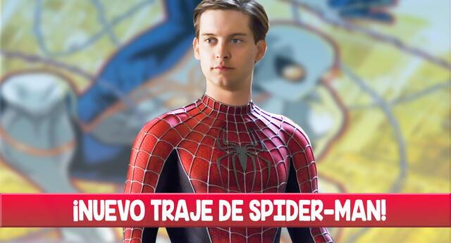 Marvel revela un nuevo traje de Spider-Man.