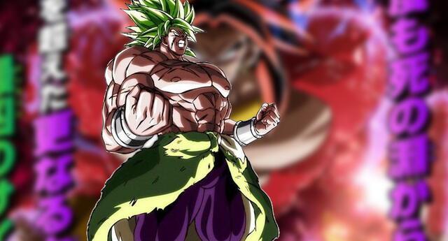 Dragon Ball revela un nuevo póster con inedita transformación de Broly en Super Saiyan 4