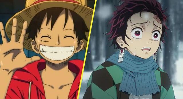 "One Piece derrota a Kimetsu no Yaiba y Dragon Ball como mejor ""Manga"""