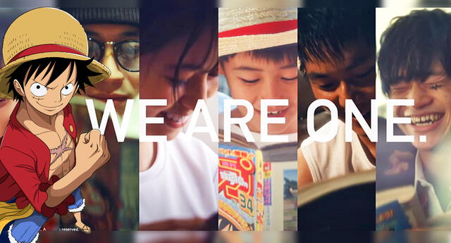 We are One: El comercial de One Piece por su capítulo 1000.
