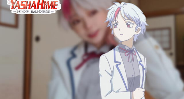 Hanyo no Yashahime: Una fan del anime se transforma en Towa y es tan igual que fascina
