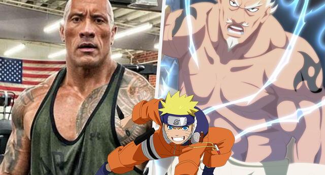 Naruto: Así se vería Dwayne
