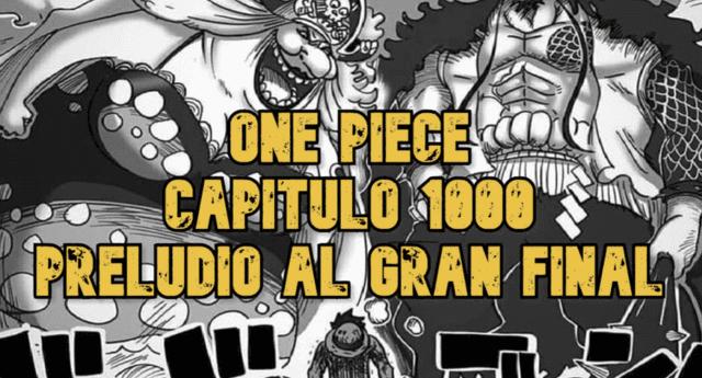 One Piece capítulo 1000: Preludio para el gran final de la serie