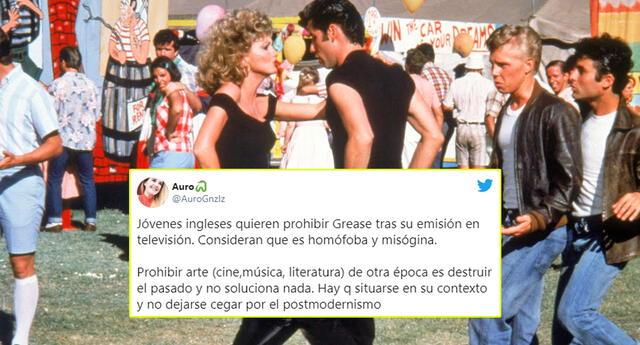Jóvenes de Reino Unido piden cancelar Grease por sexismo y homofobia.