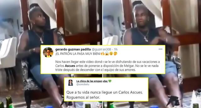 Hinchas de Alianza indignados por conducta de Carlos Ascues.