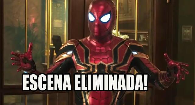 Spider-man Far Frome Home: Esta fue la escena eliminada que nadie entiende porque Marvel la quitó