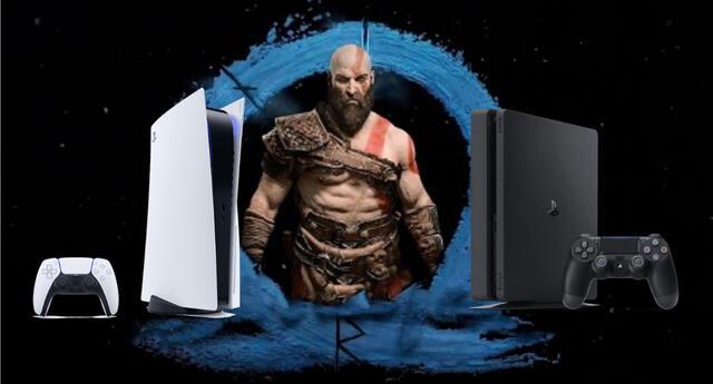 God of War: Ragnarok, la nueva entrega de la franquicia, podría llegar con un estreno paralelo en PS4 y PS5./Fuente: Composición.