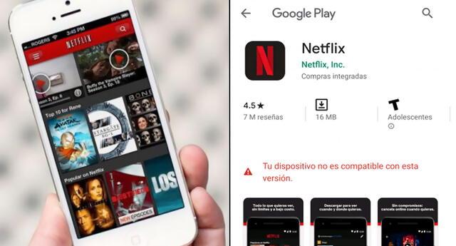Netflix ya no funcionará en estos celulares y dispositivos en 2021.