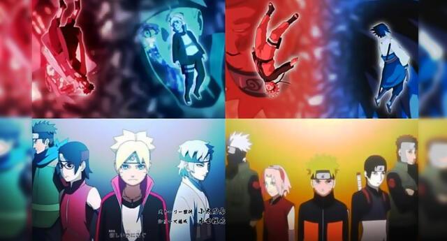 El opening 8 de Boruto y sus referencias a los openings de Naruto Shippuden.