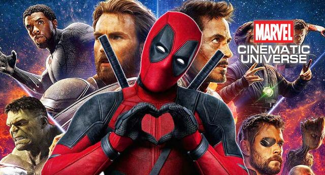 Deadpool pertenece oficialmente al Universo Cinematográfico de Marvel.