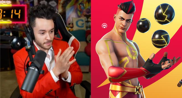 El español TheGrefg rompió el récord de pico de espectadores simultáneos en Internet con más de 2 millones en Twitch./Fuente: Composición.