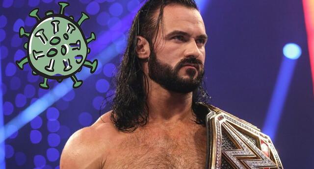 WWE: El campeón mundial Drew Mcintyre dio positivo por covid-19, pero luchará en Royal Rumble 2021