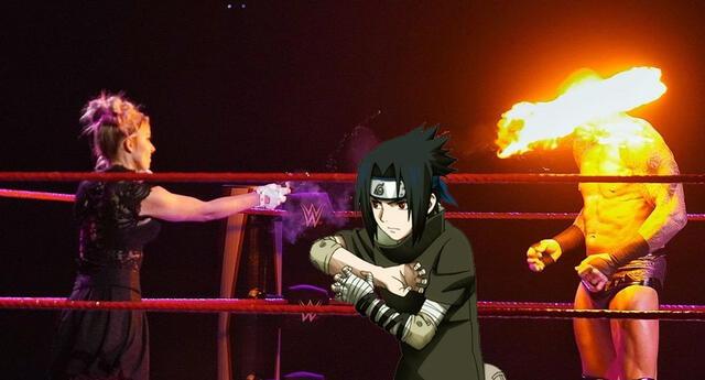 WWE: Alexa Bliss le lanza una bola de fuego a Randy Orton y la comparan con Sasuke