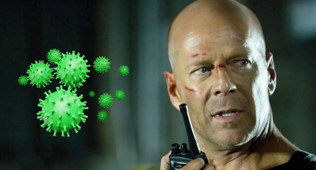Bruce Willis se niega a usar a mascarilla y lo echan de una farmacia.
