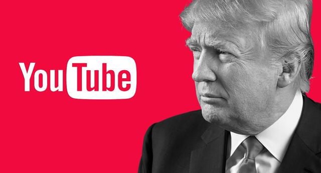 No solo fueron Facebook y Twitter: Youtube le suspende la cuenta a Donald Trump.