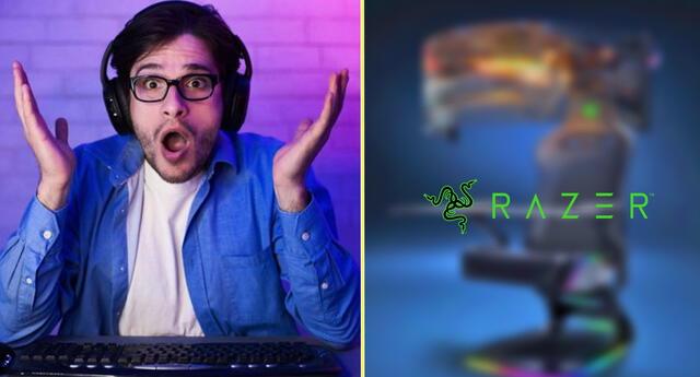 Razer planea lanzar una silla gamer con tecnología inmersiva.