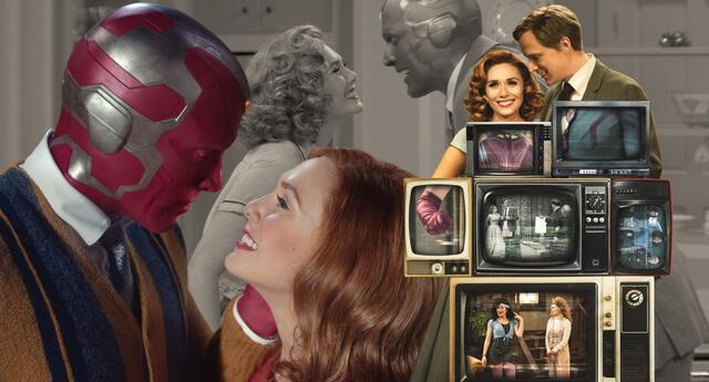 Los primeros episodios de Wandavision posicionan a la serie como un producto redonde y que da buen inicio a la fase 4 del MCU./Fuente: Marvel Studios.