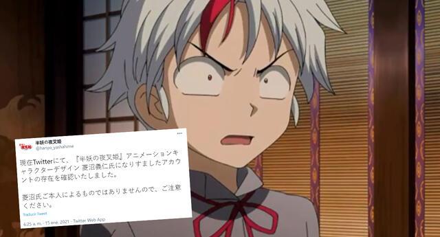 Hanyo no Yashahime: Se hacen pasar por diseñador del anime y crean cuenta falsa