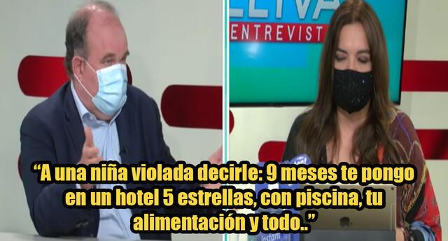Críticas a candidato López Aliaga por propuesta sobre niñas violadas: