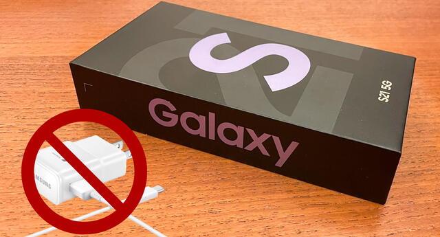 Samsung mencionó que irá eliminando gradualmente el cargador y otros accesorios de las cajas de sus nuevos celulares en un futuro próximo./Fuente: GadgetGuy.