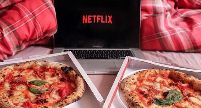 La compañía BonusFinder busca a alguien que pueda calificar series de Netflix mientras come pizza todo el día./Fuente: Pinterest.