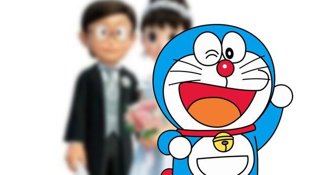 Doraemon se vuelve tendencia tras el matrimonio del protagonista, algo que todos soñaron