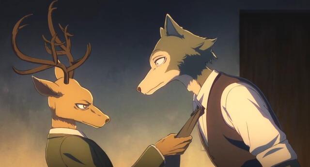 Louis, el ciervo rojo, se ha convertido en el nuevo líder de los Shishigumi en la segunda temporada de Beastars./Fuente: Orange.